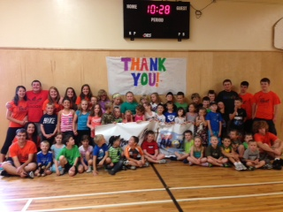 Day Camp Thank-You
